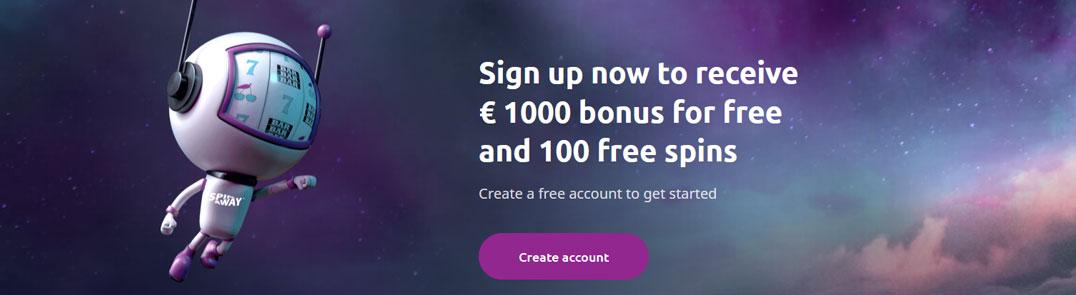 Spinaway Bonus Banner