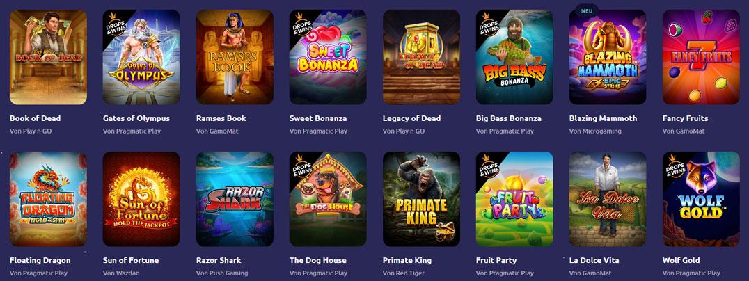 Spinaway Top Spiele