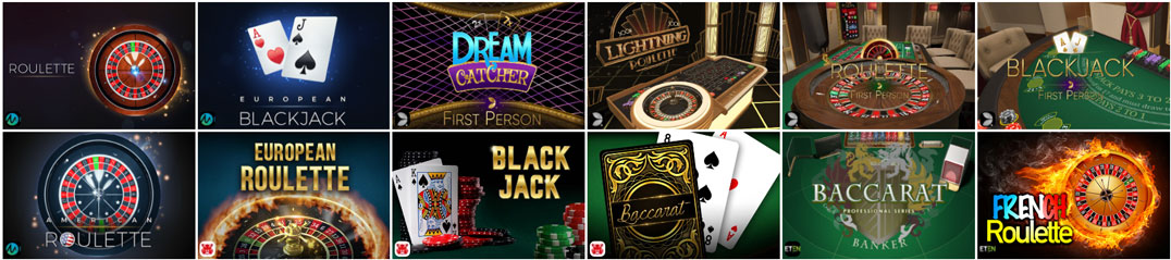 Spinit Casino classic games