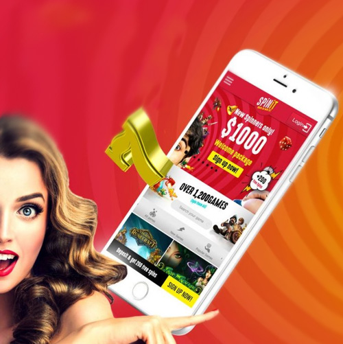 spinit mobile app