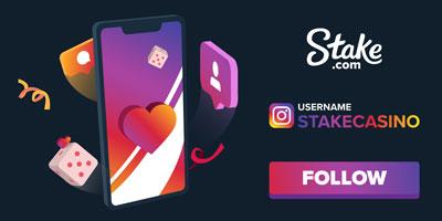 Stake Casino Instagram