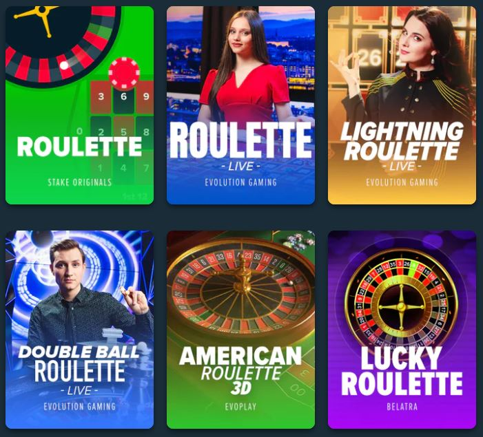 stake roulette games