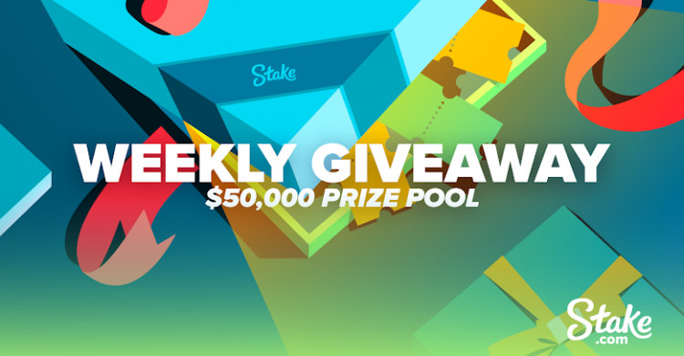 stake weekly giveaway
