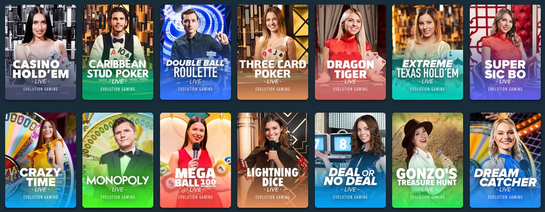 Stake Casino Live Games Preview