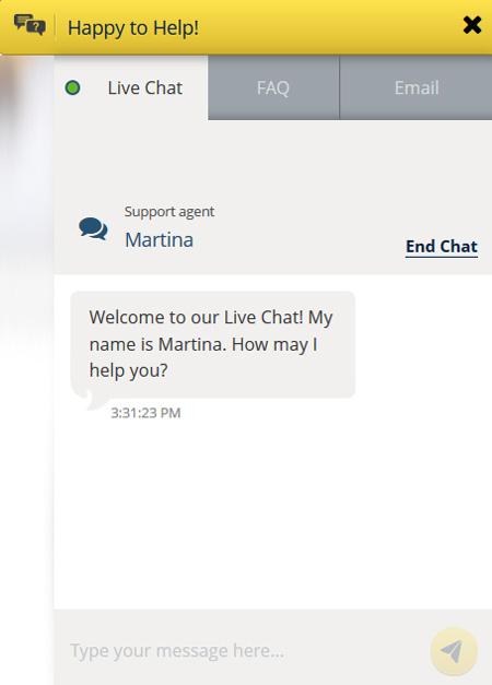 sunmaker live chat