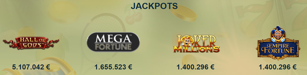 sunnyplayer jackpot games
