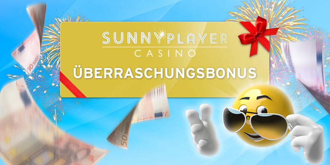 sunnyplayer ueberraschungsbonus