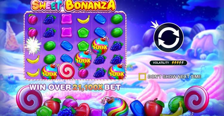 Ein Bild der Bonus Funktionen von Sweet Bonanza