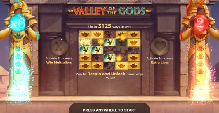 Valley of the Gods bonus