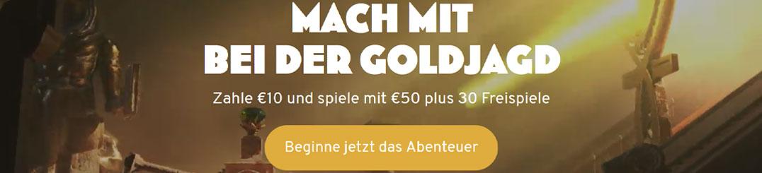 Wunderino Casino Bonus Banner