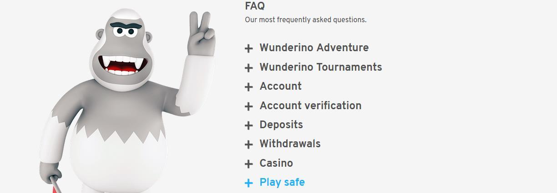 Wunderino FAQ's