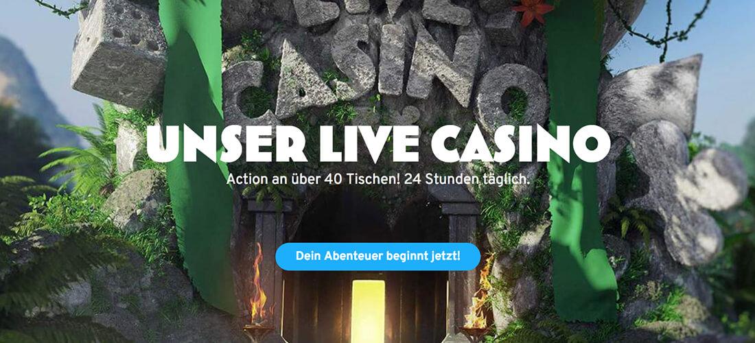 Wunderino Live Casino