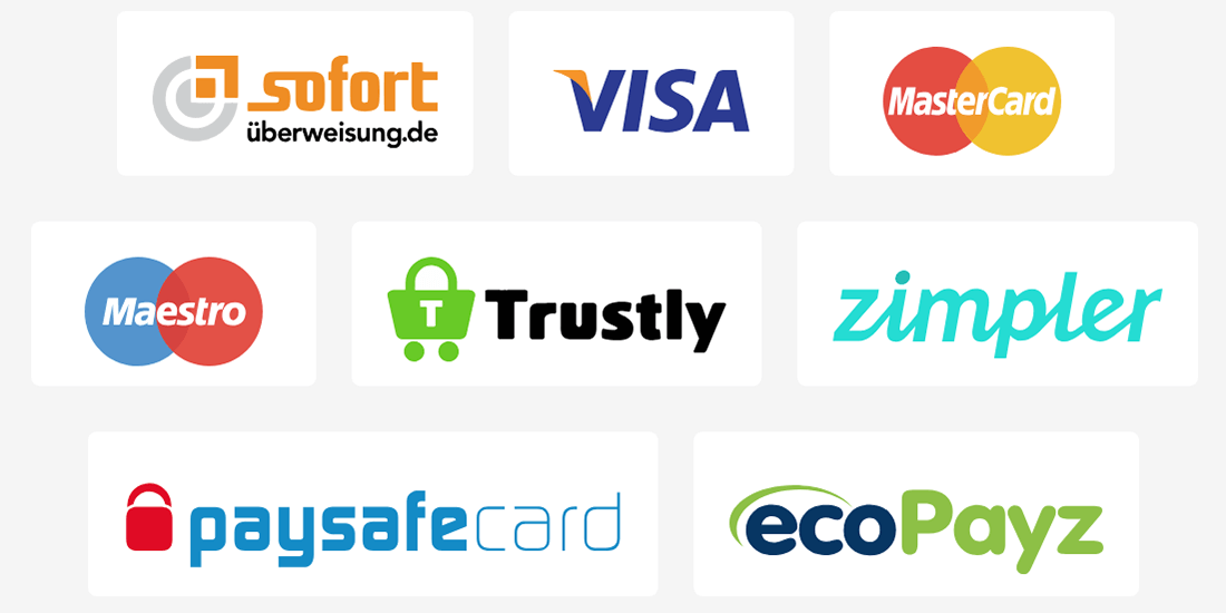Wunderino Payment Options