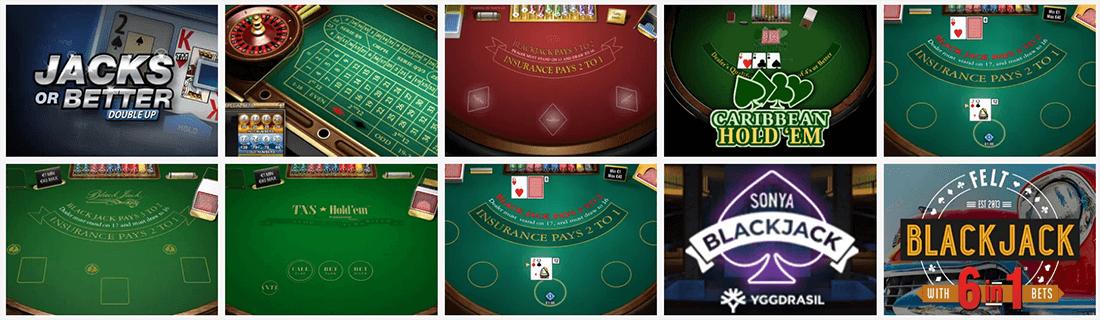 Wunderino Tischspiele